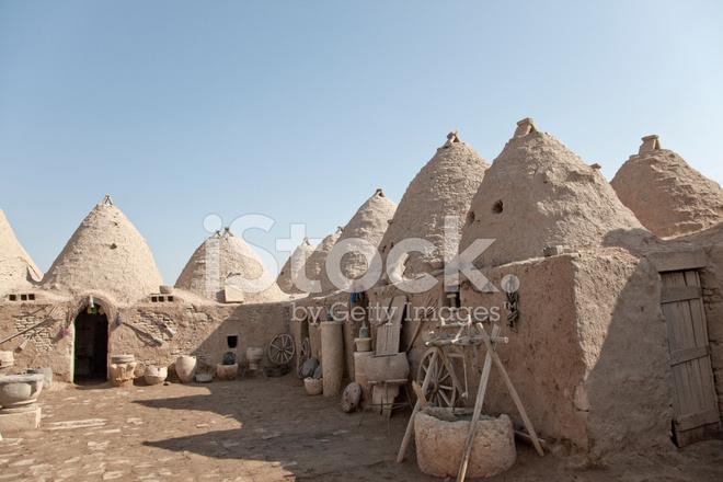 Case Di Mattoni Di Fango : Case di mattoni di fango tradizionale nel villaggio di harran