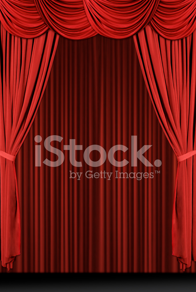 premium stock photo of vintage antieke gedrapeerd theater gordijnen