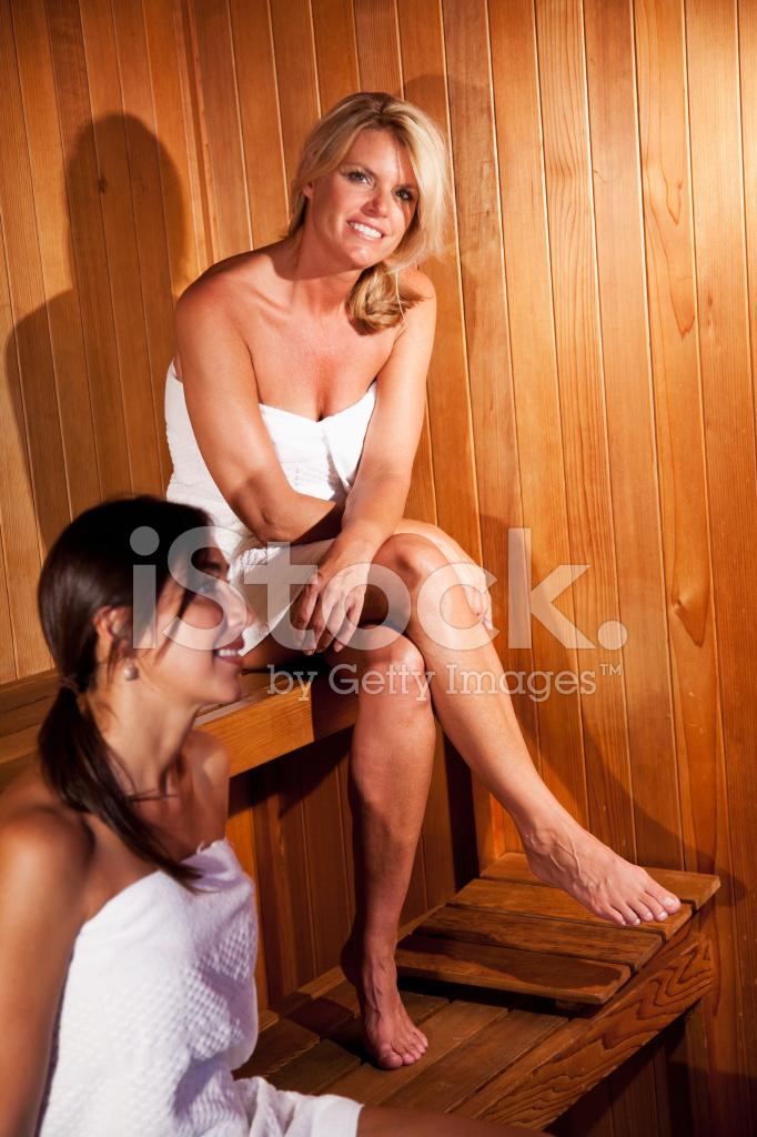 Фото женщины в бане
