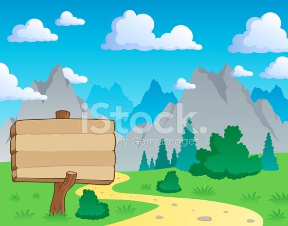 mountain theme landscape 2 stock vector freeimages com rock climbing clip art background rock climbing clip art free
