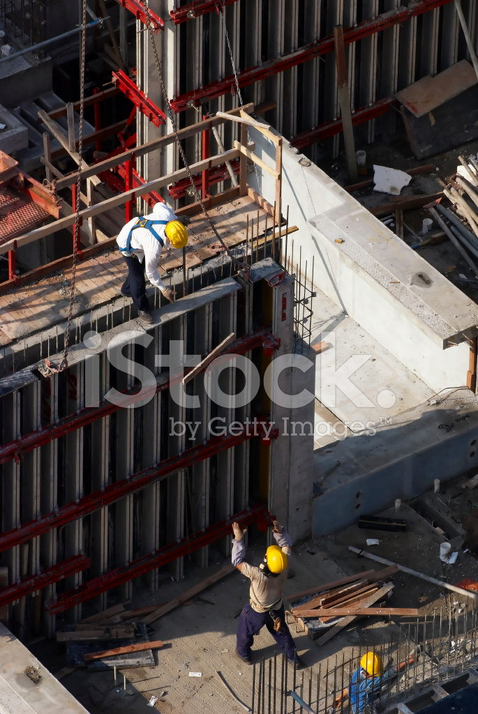 safety in high rise building construction To install safety nets in the interior high use of a tower crane for the erection of the high rise during the construction of residential buildings.