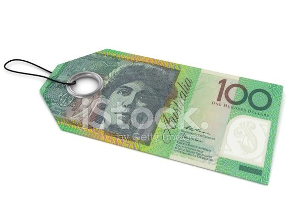 Avustralya Doları Fiyat Etiketi Stok Fotoğrafları Freeimagescom