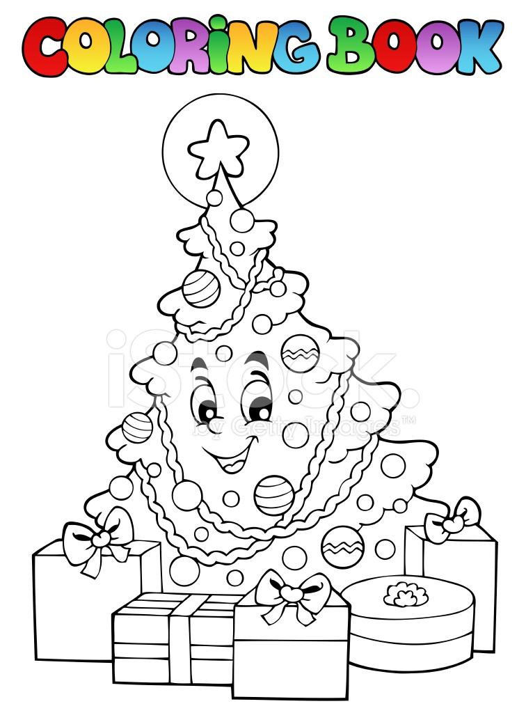 Libro DE Colorear Navidad Tematicas 2 fotografías de stock ...
