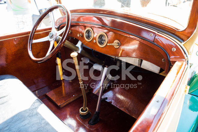 vintage retro car interior stock photos. Black Bedroom Furniture Sets. Home Design Ideas
