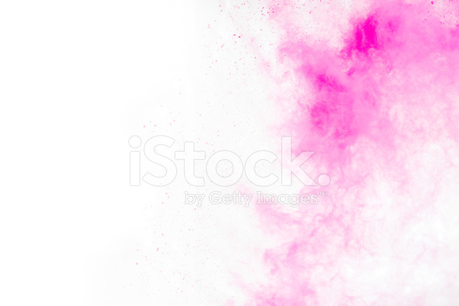 Painting White Over Pink
