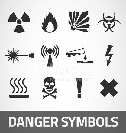 Danger Symbols Stock Vector Freeimages