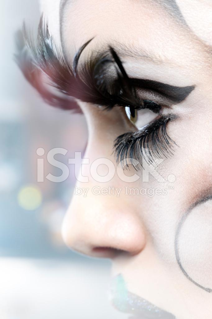 be7401bef29 Eyes With False Eyelashes Stock Photos - FreeImages.com