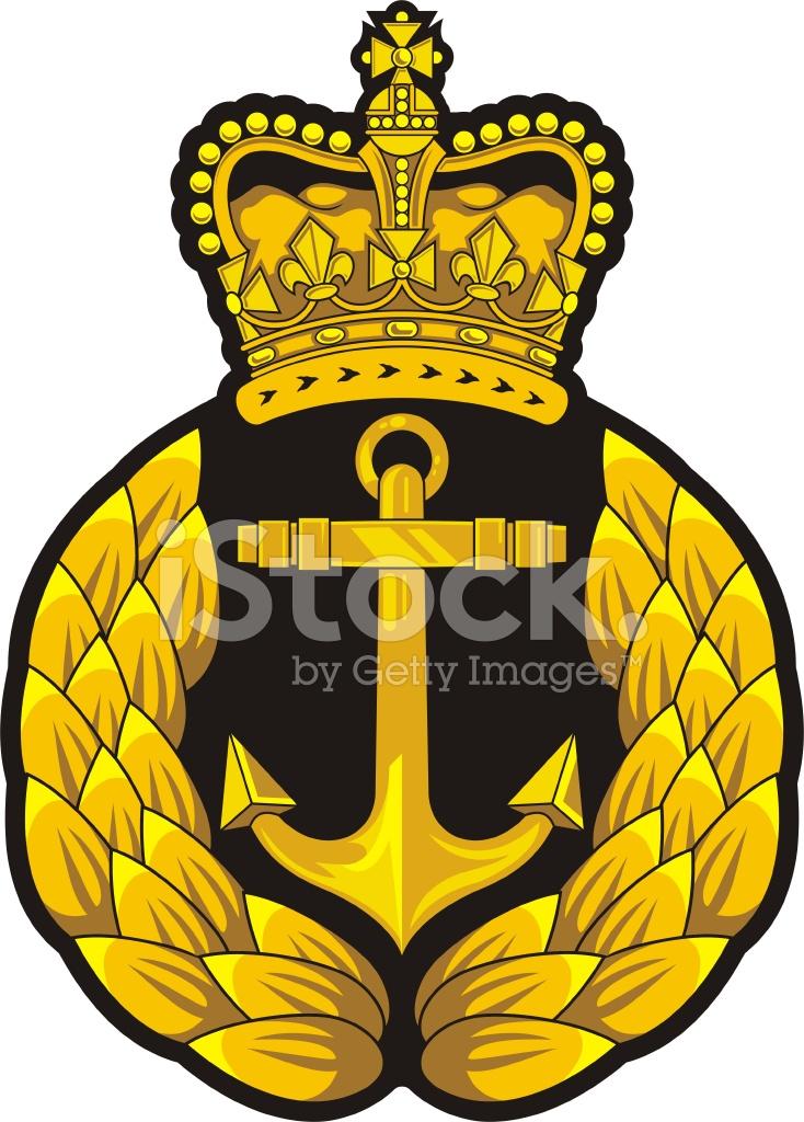 Navy Cap Badge Stock Vector Freeimages