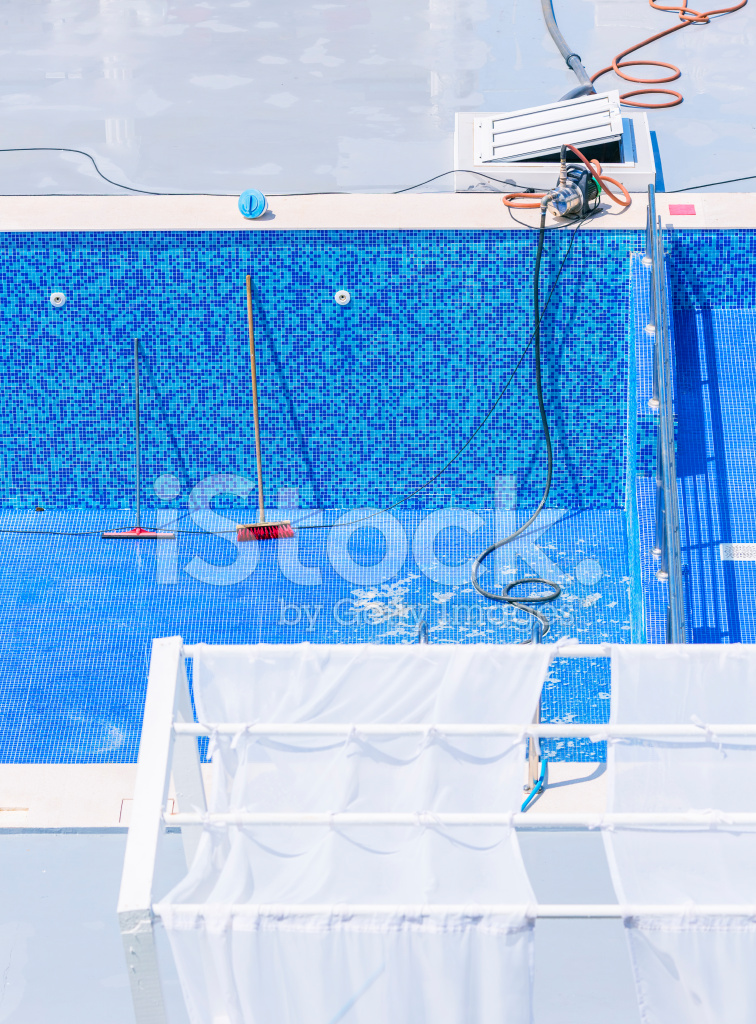Swimming Pool Cleaning Symbols : Swimming pool cleaning and repairs stock photos