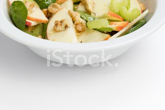 Waldorf Salatası Modern Varyasyon Stok Fotoğrafları Freeimagescom
