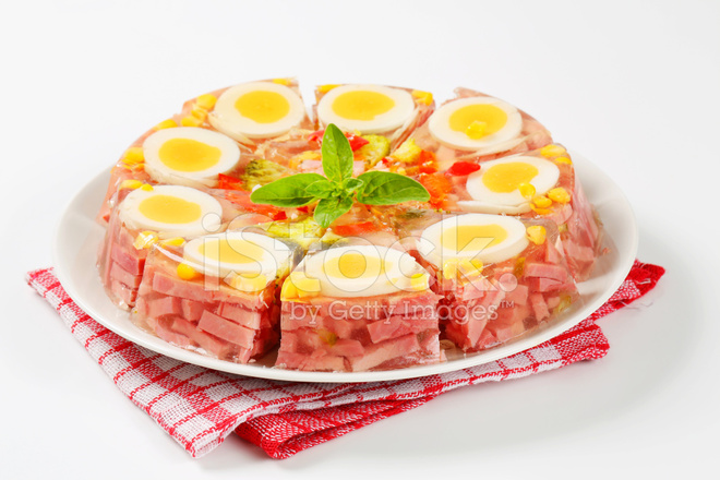 Ham Amp Egg Aspic Pie Stock Photos Freeimages Com