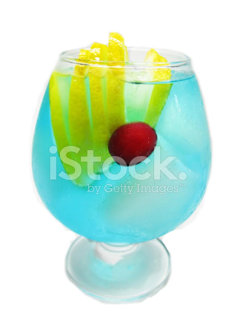 cocktail de lagon bleu de l 39 alcool au citron photos. Black Bedroom Furniture Sets. Home Design Ideas