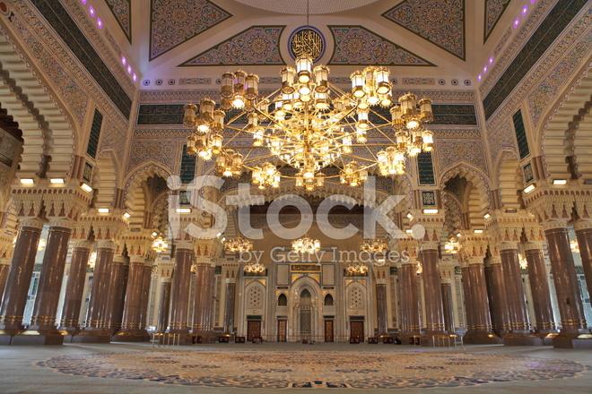 Al Saleh Mosque Interior Stock Photos Freeimages Com
