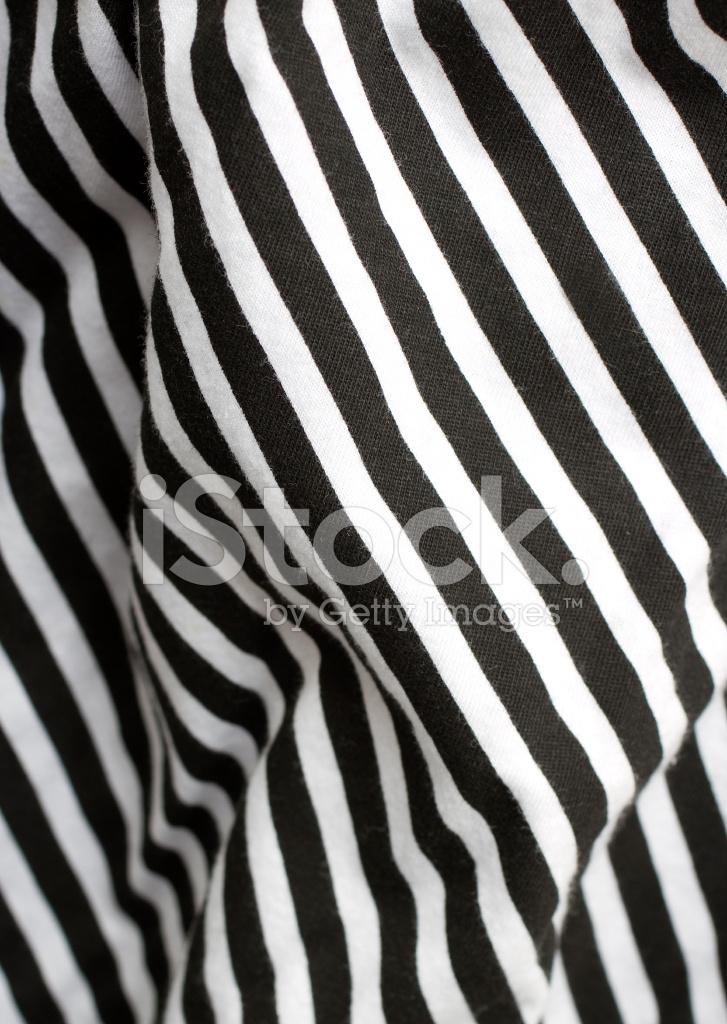 Black And White Stripe Fabric Stock Photos
