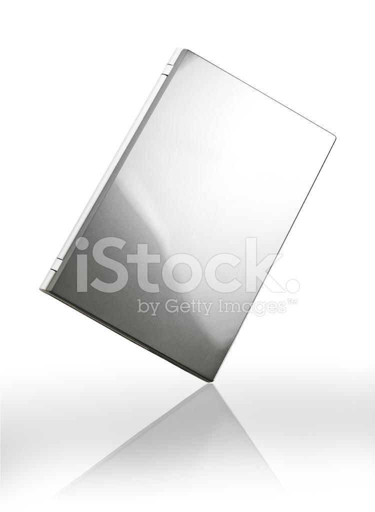 Portatile Grigio Su Sfondo Bianco Fotografie Stock Freeimagescom