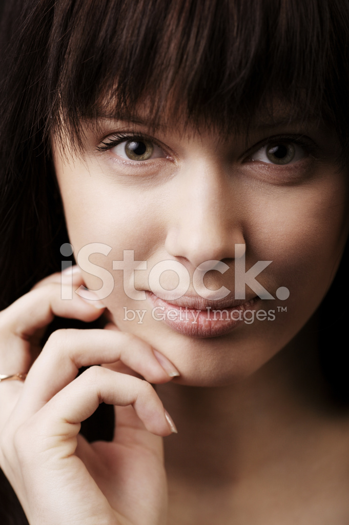 Beautiful Girl With Big Lips Portrait Stock Photos - Freeimagescom-7171