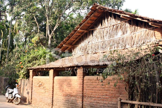 Premium Stock Photo of Tropical Village House