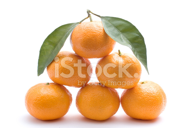 Tangerines Forming Pyramid Stock Photos - FreeImages com