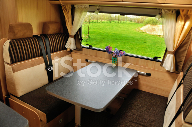 Interieur Van DE Camper Stockfoto\'s - FreeImages.com
