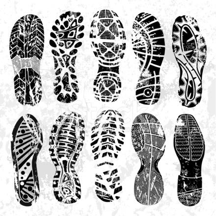 grunge shoe tracks stock photos freeimagescom
