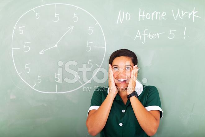 Reasons for not having homework