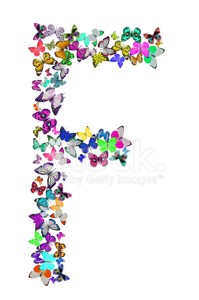Butterfly Font F Stock Photos Freeimages Com