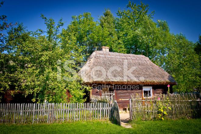Old Small Farmhouse Stock Photos