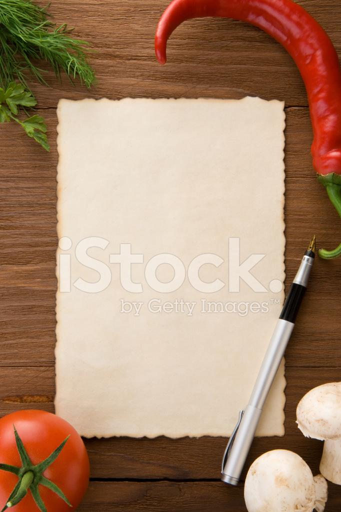 Sfondo Per Ricette Di Cucina Fotografie Stock Freeimages Com
