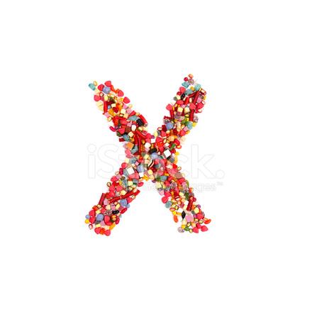 Candy Alphabet Font Stock Photos - FreeImages com