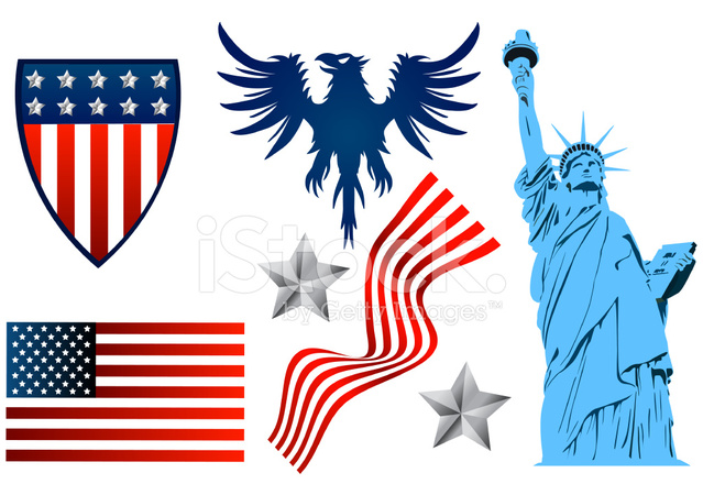 Symbols Of America Stock Vector Freeimages
