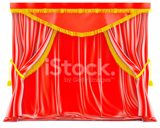 Rode Gordijnen Stockfoto\'s - FreeImages.com