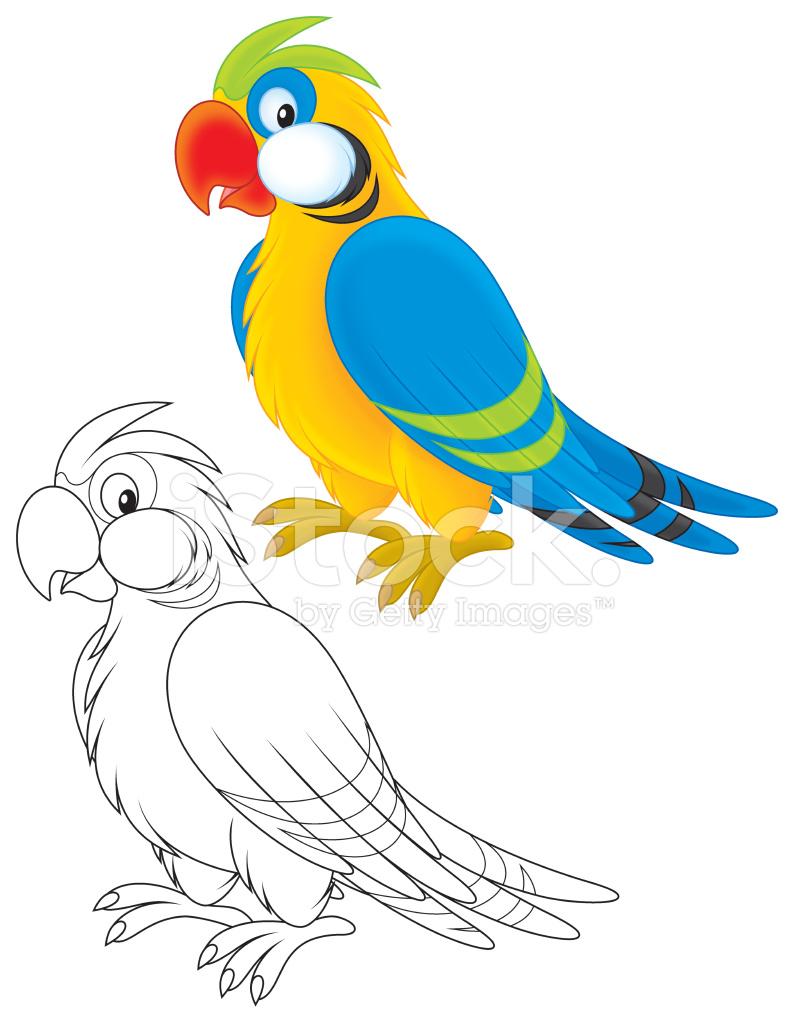 Parrot Template Printable 5820207 Hitori49fo