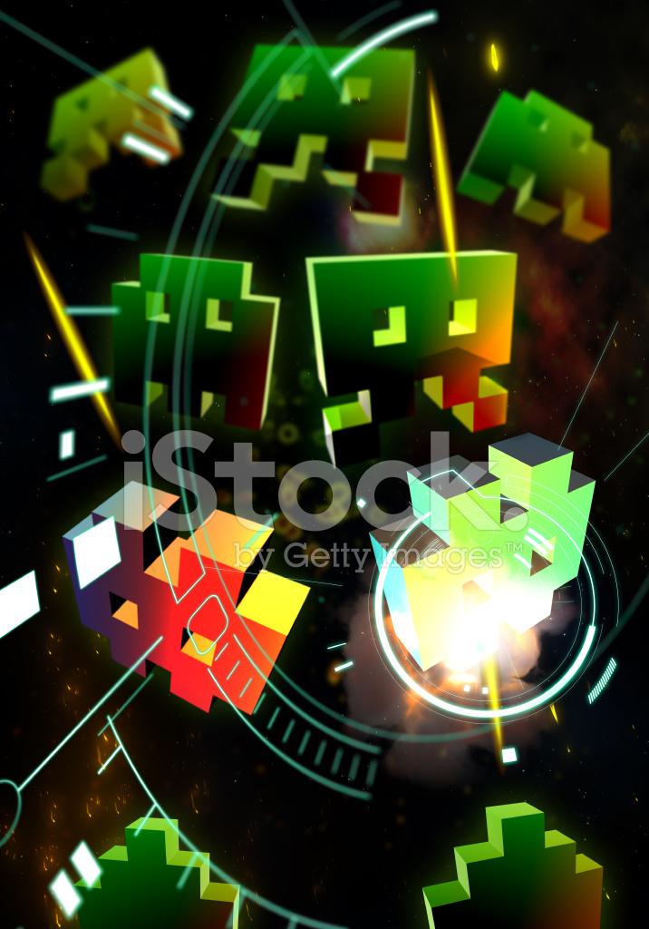 Juegos De Arcade Retro Fotografias De Stock Freeimages Com