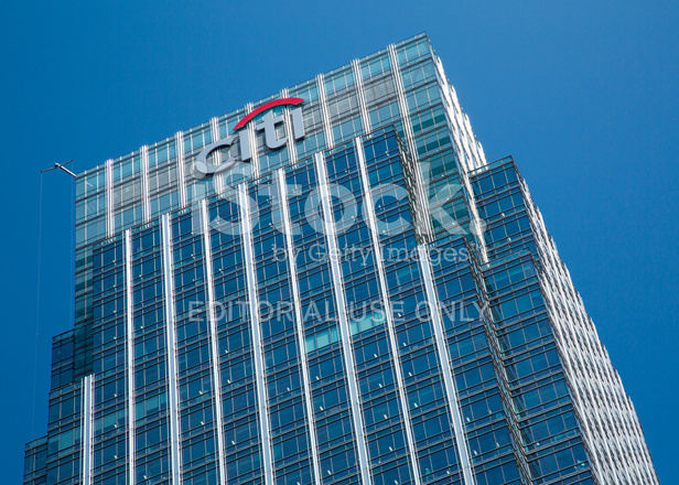 Google Hoofdkwartier Londen : Citibank hoofdkantoor londen stockfotos freeimages.com