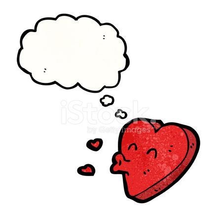 Coeur D Amour Drole De Bande Dessinee Image Vectorielle Freeimages Com