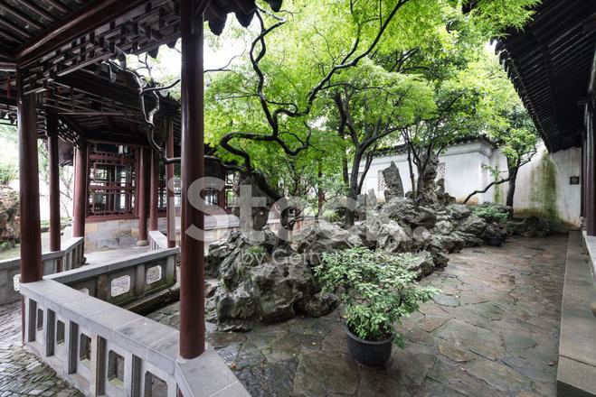 Jardines Chinos Fotografas de stock FreeImagescom