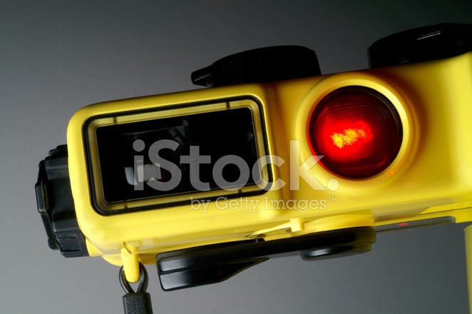 Unterwasser kamera mit einem laser entfernungsmesser stockfotos