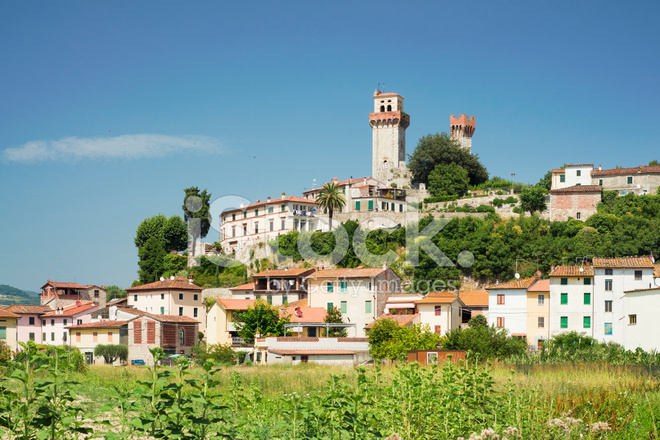 Nozzano Castello (lucca) Stock Photos - FreeImages.com