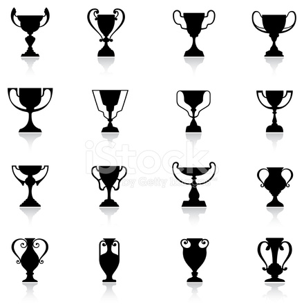 Trophäen Icon Set Stock Vector - FreeImages.com