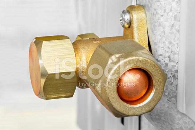 Air Conditioner Service and Shut Off Valve Stock Photos - FreeImages com