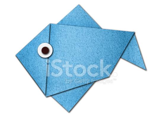 Pesce Di Origami Di Carta Fotografie Stock Freeimagescom