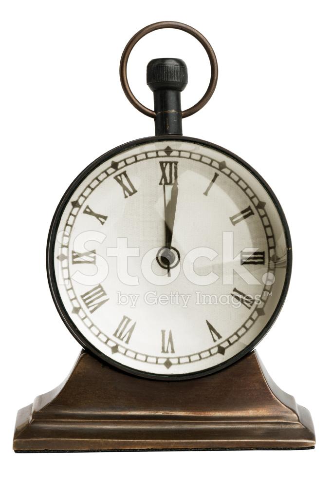 Bordsklocka antik