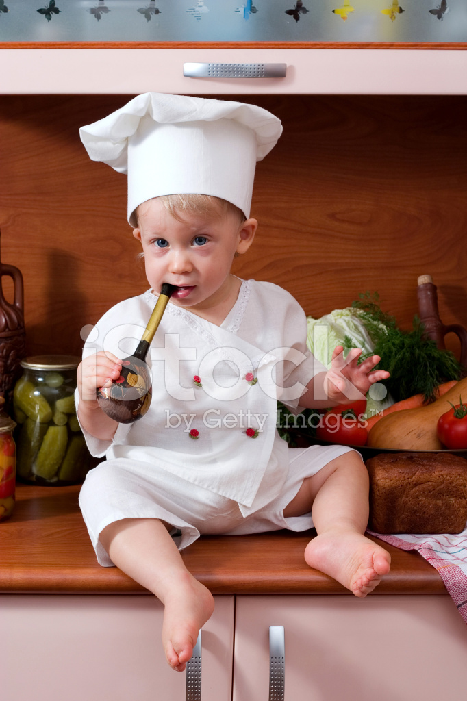 35fef7386a2 Baby Chef Stock Photos - FreeImages.com