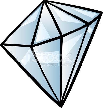 diamond clip art cartoon illustration stock vector freeimages com rh freeimages com diamonds clip art free diamonds clip art images
