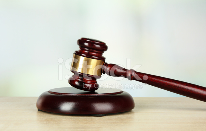 Judges Gavel on Light Background stock photos - FreeImages.com
