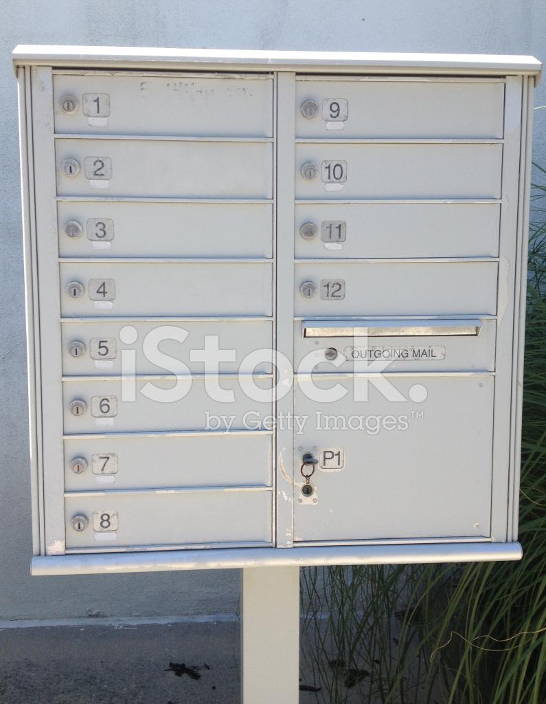 Mailbox AT Apartment Building Stock Photos - FreeImages.com