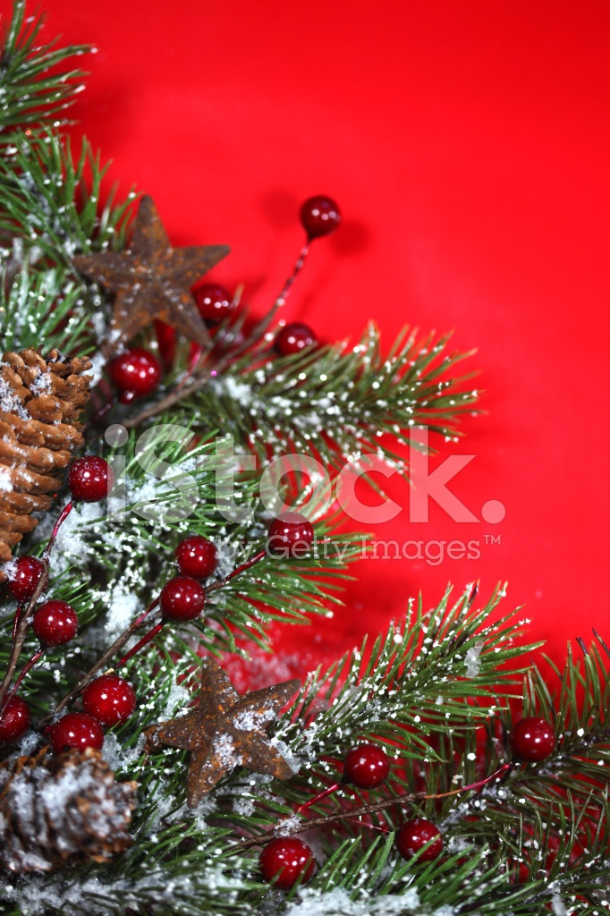 Vertical Festive Christmas Holiday Background