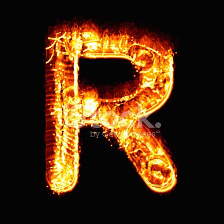 Alfabeto De Fuego R