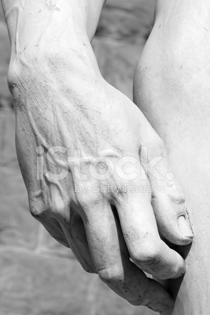 Hand Der David Statue Von Michelangelo Stockfotos - FreeImages.com
