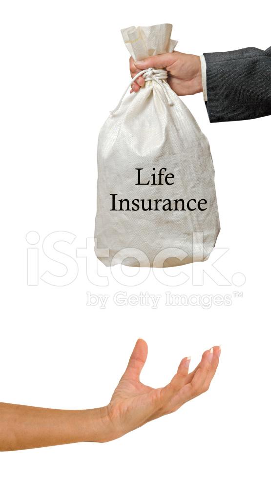 Giving Life Insurance Stock Photos
